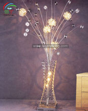 Aluminum flower floor standing lamp