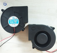 12v/24V ball bearing 97mmX33mm high temperature DC brushless air cooling exhaust fan blower for car cabin