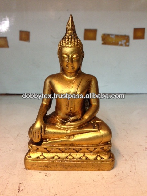 Gold resin Buddha Thailand