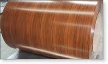 wood grain pre-printed steel coil aluminum woodensheet 0.5mm thick sheet marble design ppgi