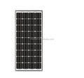 Roof 120 Watt Mono Crystal Solar Panel , Monocrystalline PV Panels Solar Power