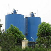 biogas Anaerobic reactor in water treatment plant