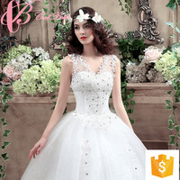 2018 Cheap White Lace Bridal Chic Alibaba Floor Length Wedding Dress Wholesale