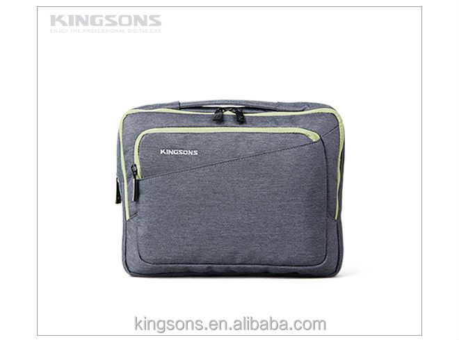 High quality tablet laptop sleeves bag with double zipper
