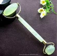 Jade roller Double-ended facial roller jade facial <strong>massager</strong> with oem logo