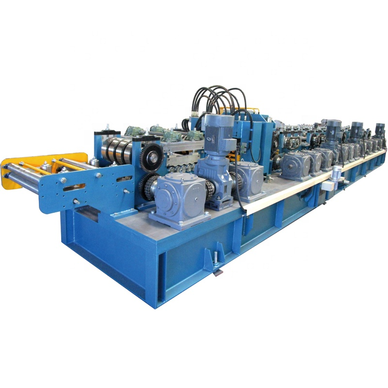 Automatic Change Size C Purlin Roll Forming Machine <strong>C100</strong>-300 Light Steel Frame Roll Forming Machine