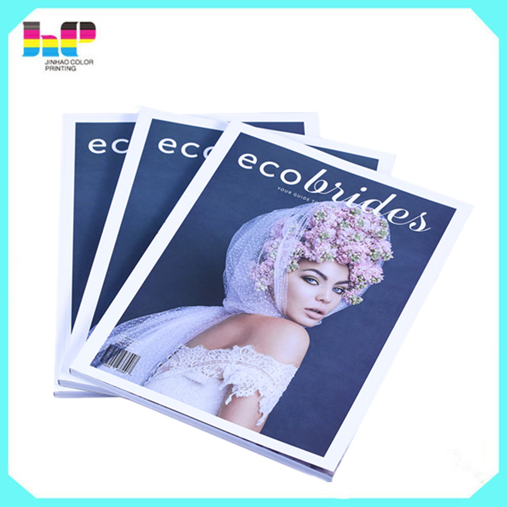 Cheap custom photo book printer full color monthly magazine printing book printing companies in china