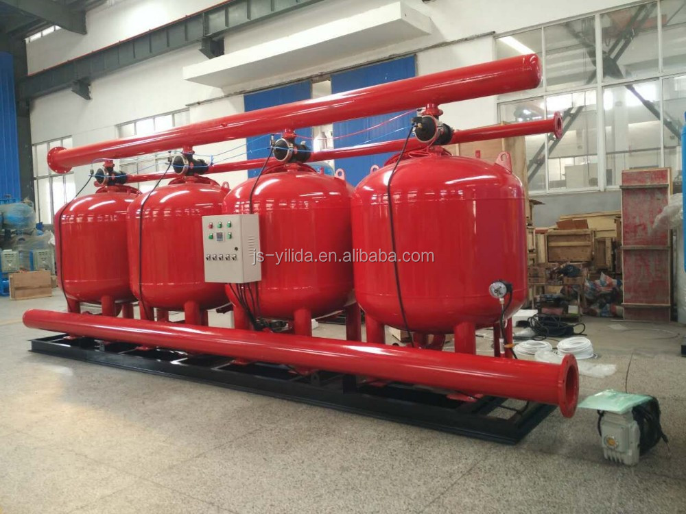 Shallow Sand Filter Purifying System For Commercial Circulating Water Processing