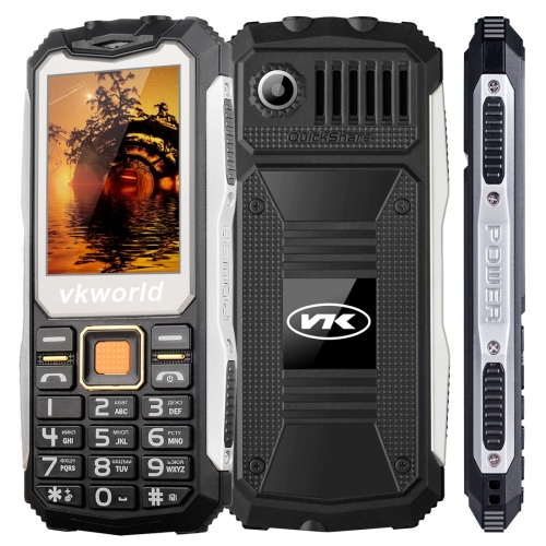 Free sample VKworld Stone V3S, 32MB+32MB mobile phone old man cell phone black