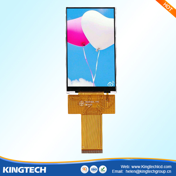 "car lcd 800x480 4.3"" tft 40pin capacitive touch panel"