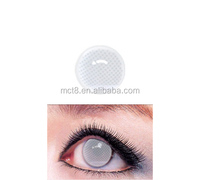 Bright star pattern design crazy contact lens/Cosmetic yearly soft horrific color contact lens/contact lens case wholesale
