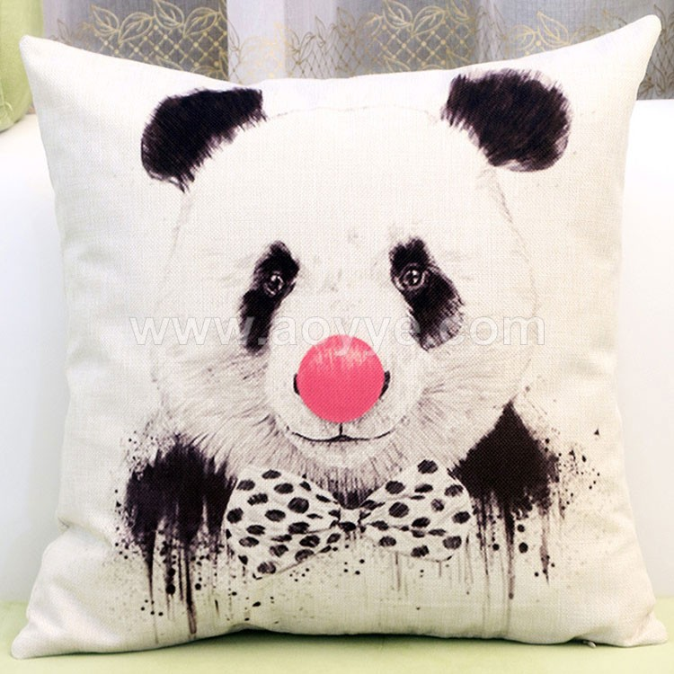 Sell lots of lovely beard giant panda household linen pillows on the couch pillow set produce wholesale