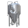 500L 1000L 2000L Conical beer fermenting equipment,fermenter with dimple plate cooling