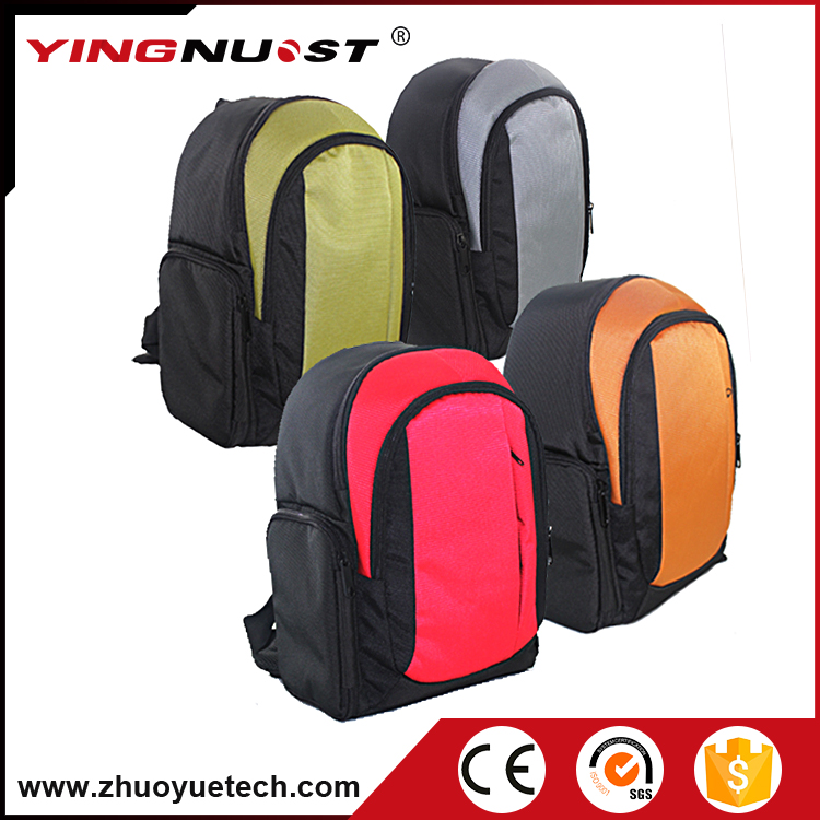 Hot Style New Outdoor Nylon Backpack Laptop Bags Gray Red Green Orange Professional Camera Backpack Free Shipping Bag