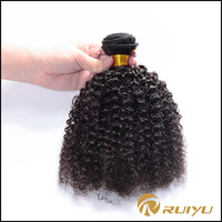 Hot sale cheap virgin malaysian afro curl human hair china