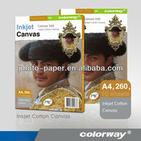Inkjet Cotton Canvas 100% Cotton by Photo Paper