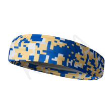 OEM rubber elastic cheap sports Camo headbands