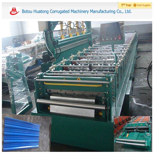 Roof metal Roll forming machine