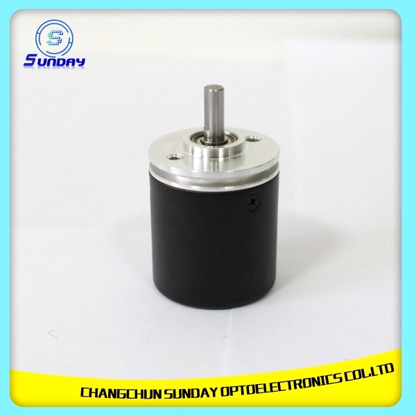 Mini Solid Shaft Encoder 25mm External Diameter Waterproof Rotary Encoder
