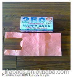 HDPE high quality dog poop bags with printing colorful