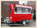 YS-FB200Q mobile kitchen vehicle mobile shop trailer for small business