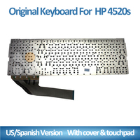 Laptop keyboard for For HP 4520S 4525s Series Laptop US Keyboard Teclado Without Frame