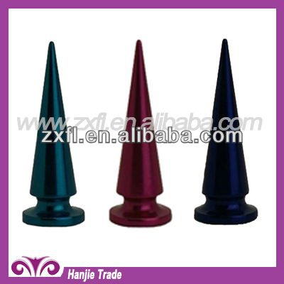 Decorative Screw Back Colored Spike for Leather Clothing