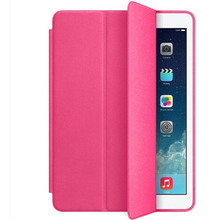 New for iPad Air Smart Case 5 Shapes Folding Cross Pattern Cover For Ipad 5 With Automatic Sleep & Wake-Up Function