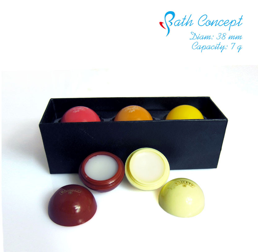 Fruit Flavor OEM Lip Balm Ball with SPF15