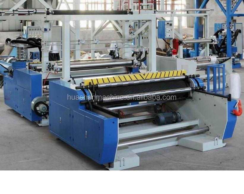 PE Triple-Purpose single screw Plastic FIlm Machine,Film Blowing Machine,Plastic Film Extruder