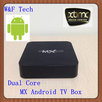 Newest dual core amlogic-8726-mx cortex a9 mx tv box android 4.2 XBMC 13.2 fully loaded Amlogic 8726 mx tv box