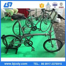 made in china Customized titanium bike frame as your drawings with CE certificate