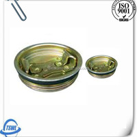 Fine quality bung caps application as steel drum cap,oil drum cover
