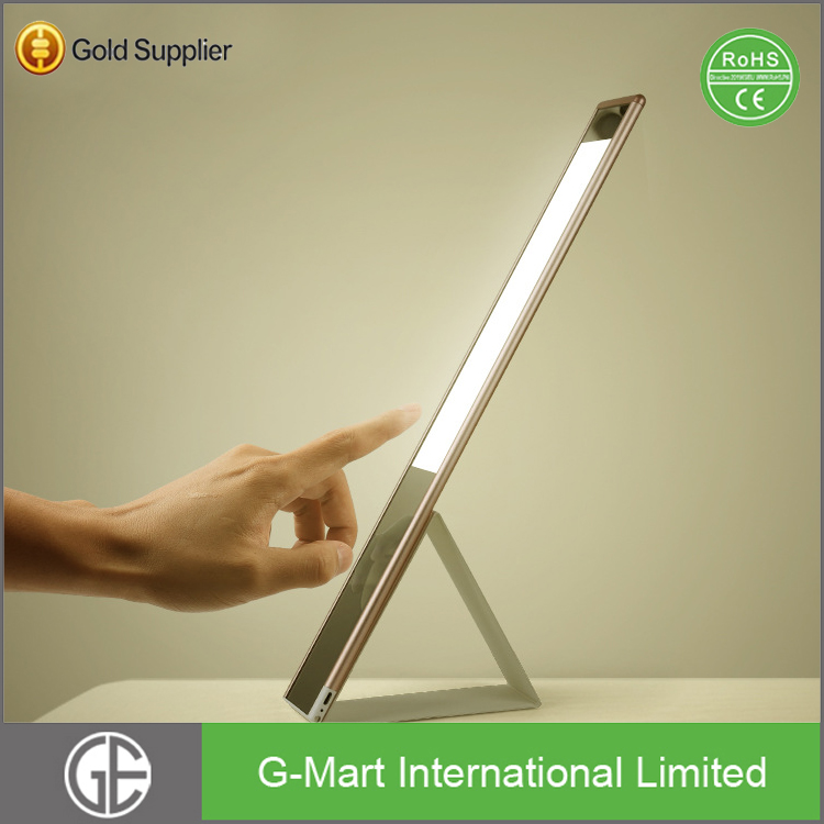 LED Dimmable Desk Lamp Book Reading Light Touch Sensor Eye Protection,USB Charging for Bedside Computers Desktop