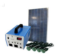 Off grid battery backup 1KW solar system for home use