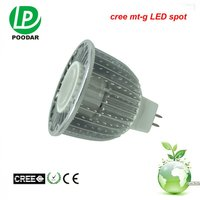 led light gu 5.3 MR16 spotlight 7W work with all any electronic transformer