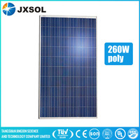 Best price 260w poly solar panels/panel solar for home solar system