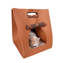 2017 new pet dog products Dog and cat carrier felt pet tote bag carry bag new fine pet products