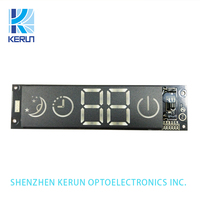 Ultra red 0.4 inch customized 4 digits 7 segments led numerical display