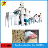 High efficiency broiler chicken cow beef feed pellet production plant mill plant for sale