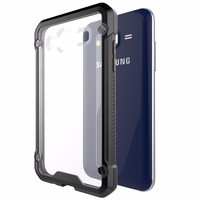 Soft Flexible TPU Frame Slim Fit Shockproof Case For Samsung Galaxy J7