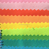 0.8MM suede microfiber pu leather for making baby shoes HX993