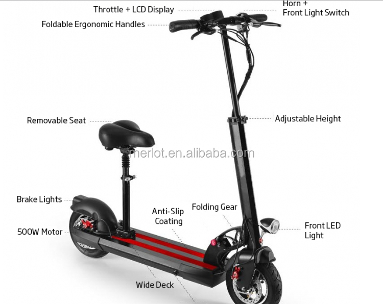 Europe stock K202 1000w 48v 20ah 2 wheel 10 inch folding electric scooter