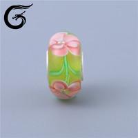 E Guolong Globalwin Green Heart Lampwork Murano Glass Beads Manufacturers