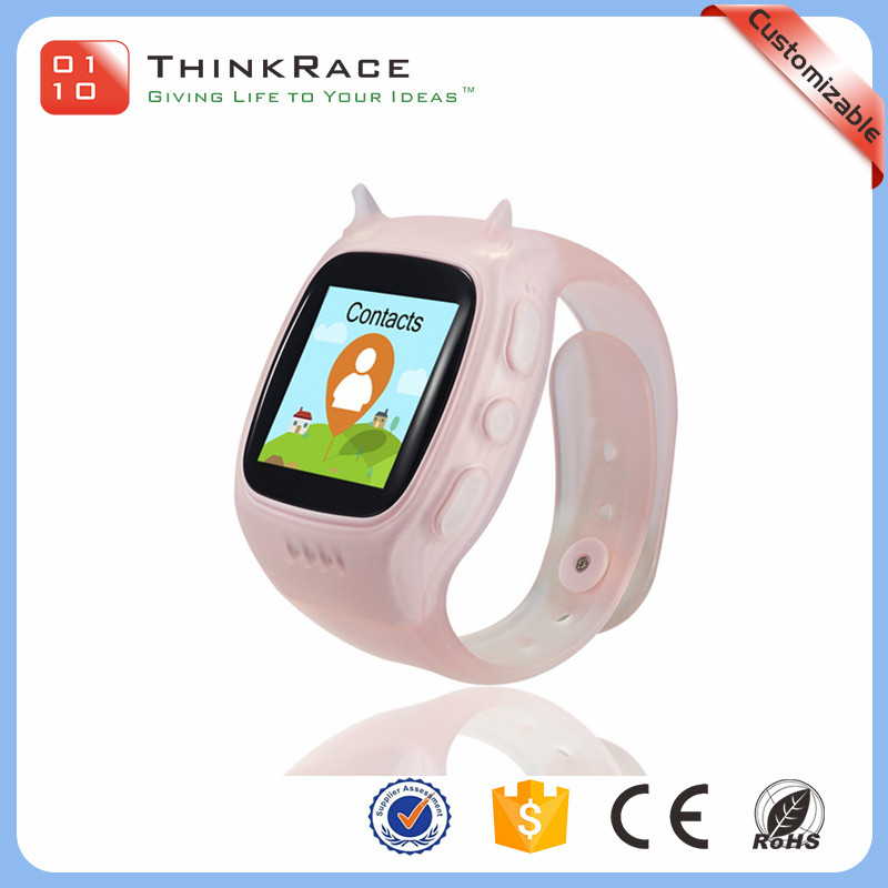 Best software design safe and reliable kids smart watch gps tracker