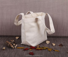 custom organic canvas bag blank cotton canvas tote bag