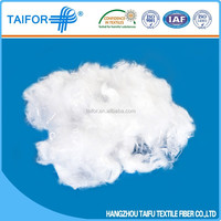 synthetic plain dyed polyester fiber waste