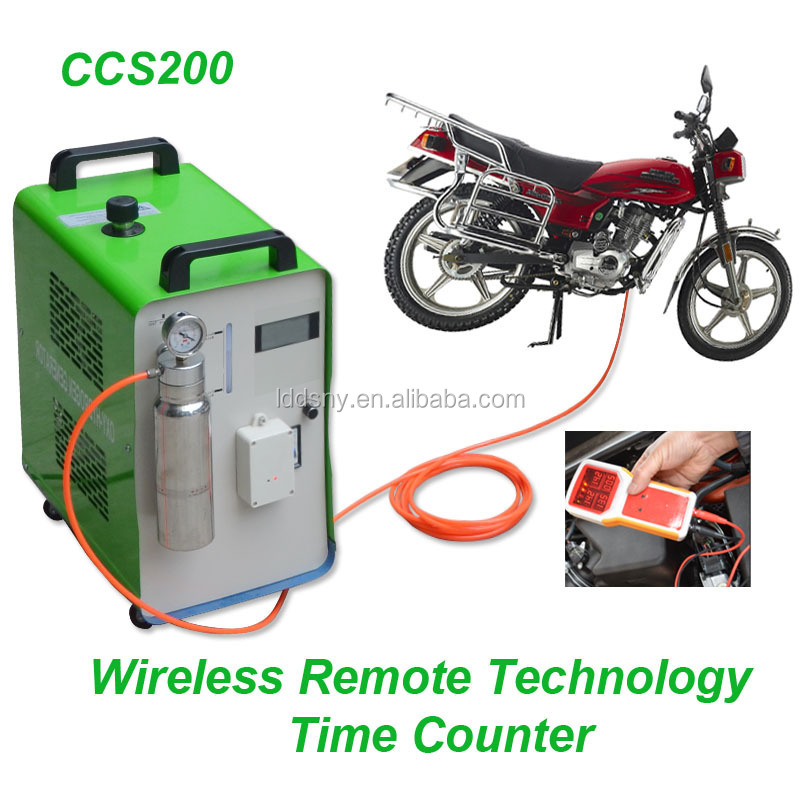 Motorbike scooter HHO carbon <strong>cleaner</strong> engine carbon cleaning machine
