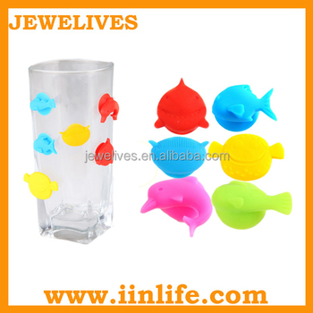 Silicone animal bottle marker beer bar whisky accessories