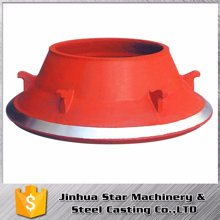 Building Road construction durable Light weight wear resistant crusher mantles